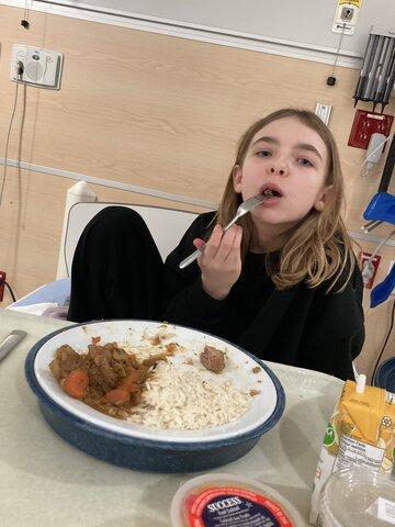 Ma deuxième hospitalisation en trouble alimentaire