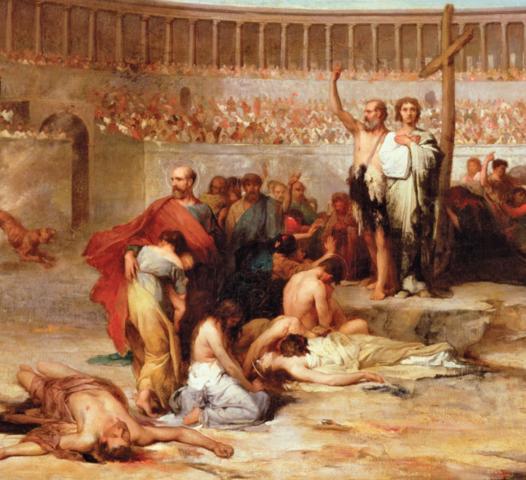 Legalized empire-wide Roman persecution