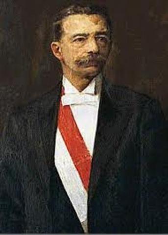 presidente Eduardo Lopez de Montaña