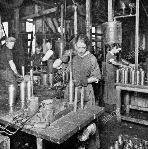 Creacion de Fábricas de Municiones