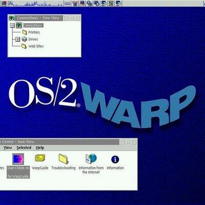 IBM OS 2 timeline