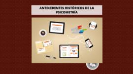 Antecedentes Históricos de Psicometría timeline