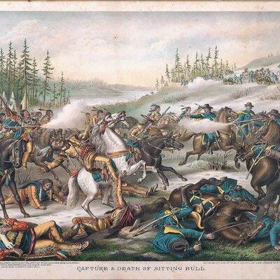 Sitting Bull Surrenders timeline