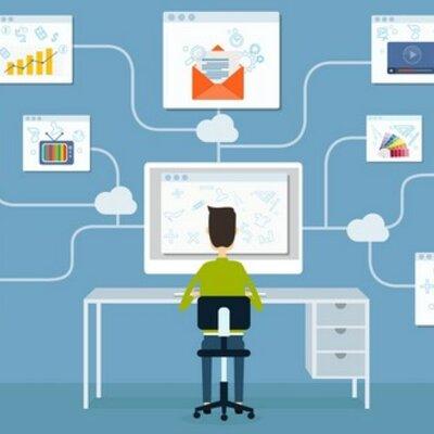 Evolución de las TIC en Educación timeline