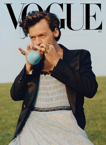 Hogging the cover of Vogue USA