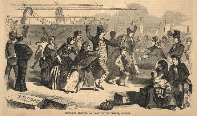 Irish Immigrant Wave