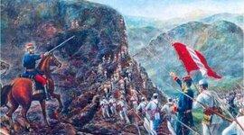 La Guerra con Chile timeline