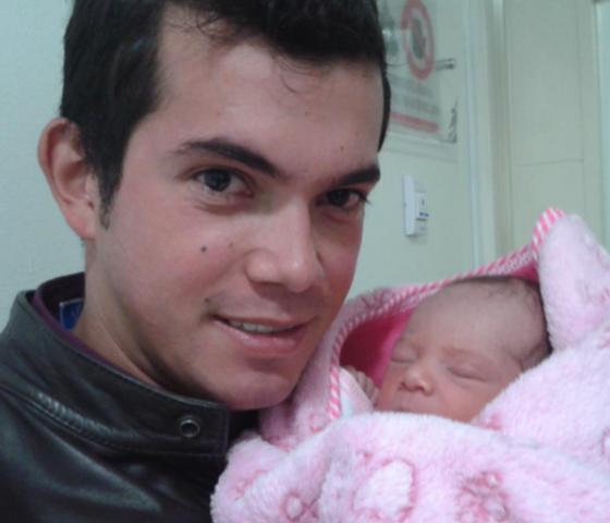 Nacimiento de mi primer hija
