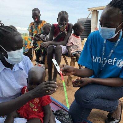 Línea del Tiempo. La labor de la asistencia humanitaria de UNICEF hacia la población infantil sursudanesa en la gestión del conflicto armado originado en 2013. timeline