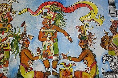 En América Central, los médicos mayas usan extractos de plantas alucinógenas para detectar causas y tratamientos de enfermedades.