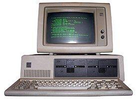 Primer PC (IBM model 5150)