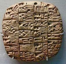 Tablillas cuneiformes