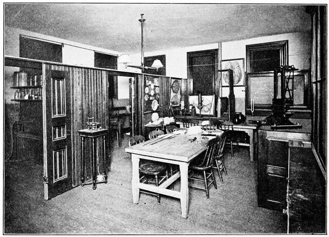 Primer laboratorio de Psicología