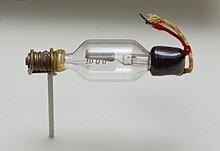 Lee De Forest inventa el tubo de vacío.
