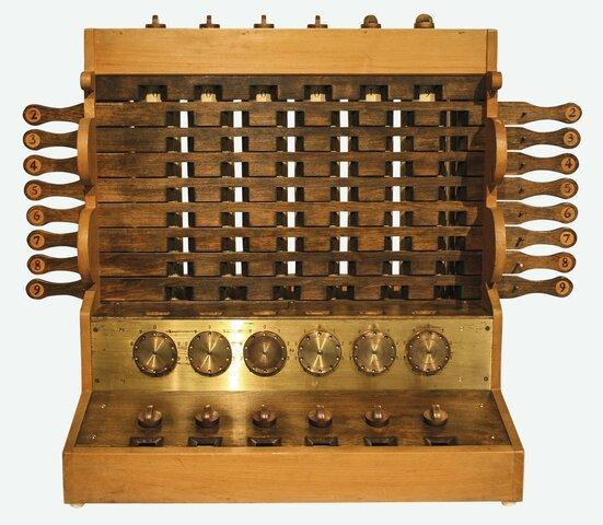 Wilhelm Schickard inventa la primera calculadora mecanica