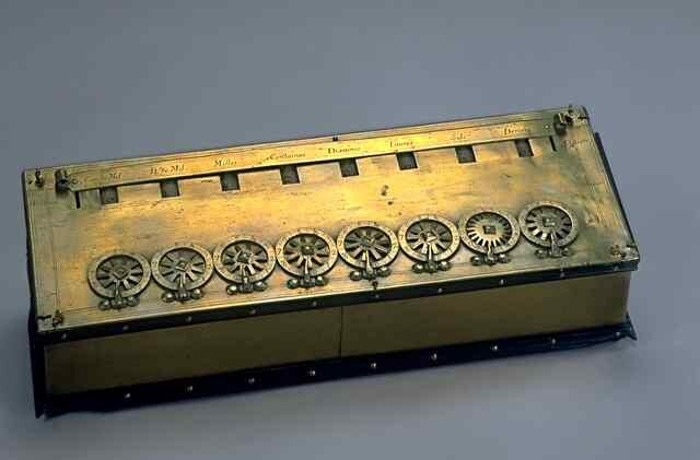 Calculadora Pascalina.