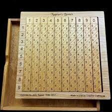 john napier crea un sistema para realizar operaciones aritméticas