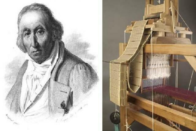 Joseph Marie Jacquard, utilizó el mecanismo de tarjetas perforadas