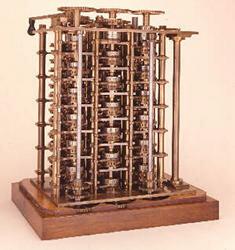 Charles Babbage completa sumáquina diferencia