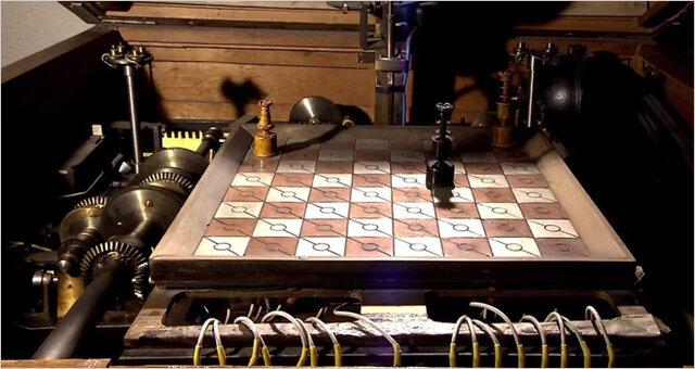 Leonardo Torres Quevedoconstruyeel ajedrecista