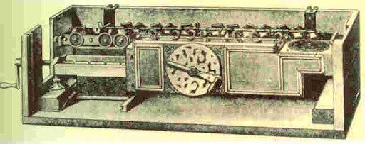 Máquina capaz de dividir y multiplicar