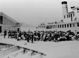 Angel Island Opens to Process Immigrants