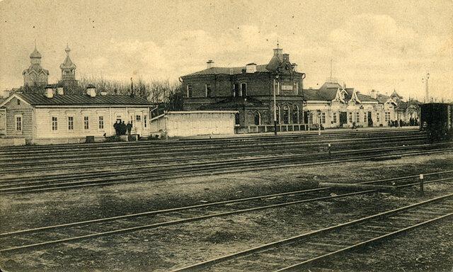 Появлению железной дороги в Томске