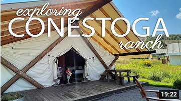 """Exploring Glamping | Conestoga Ranch"""