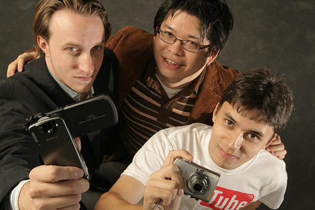 Steve chen, Chad hurley y jawed  Karim (Representantes del humanismo digital)