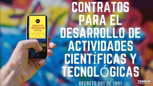 Decreto 591 de 1991 Parámetros para la contratación dentro de los campos de la innovación