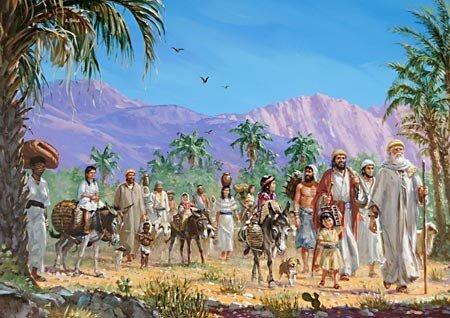 Ezra Travels to Jerusalem