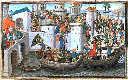 άλωση της Κωνσταντινούπολης από τους Σταυροφόρους