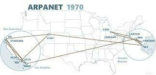 ARPANET CRUZA EEUU