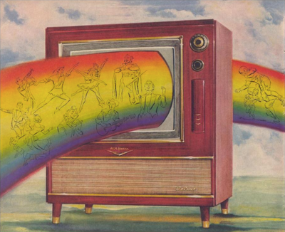 Coloured Television