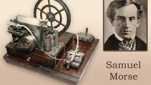 Samuel F. B. Morse Crea el Telégrafo