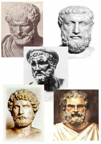 Filósofos retóricos presocráticos