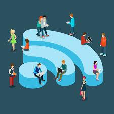 Connexion wifi publique
