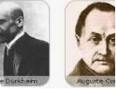 Comte y Durkheim tradición franco-británica
