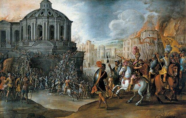 Sacco di Roma da parte dei Visigoti