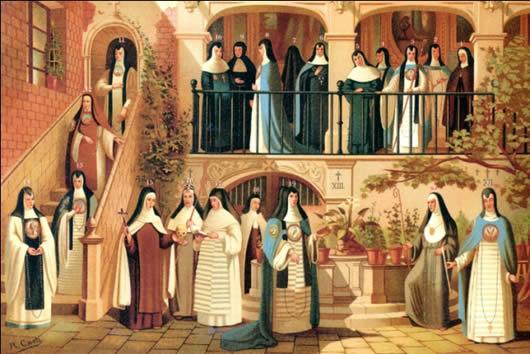 ¿Cuál fue la importancia de las órdenes religiosas en la Nueva España? 1571