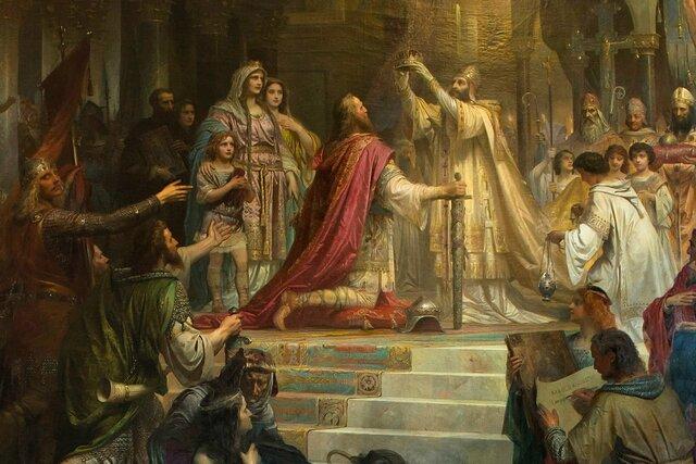 Carlo Magno è incoronato imperatore