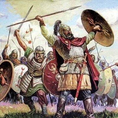Régimen de los bárbaros hasta la cumbre del papado timeline
