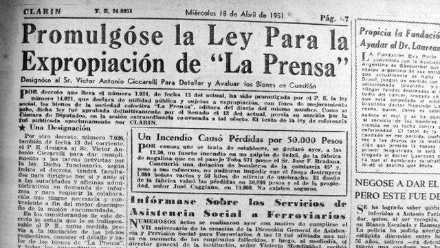 Expropiación diario La Prensa