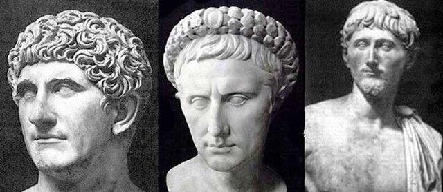 Secondo triumvirato di Ottaviano, Antonio e Lepido