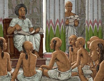 Forma de Educación Egipcia