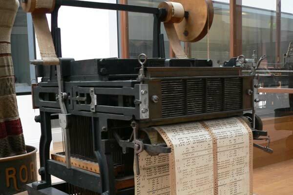 Máquina de Telar de Jacquard