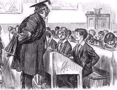 Surgimiento de la escuela patriarcal