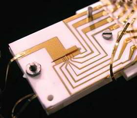 Procesador cuántico de estado sólido