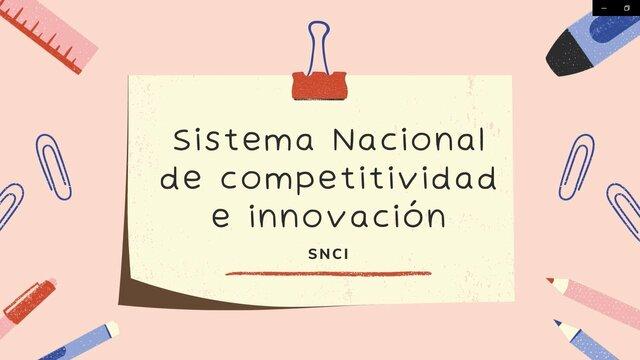 Decreto 1651 de 2019 Organización y funcionamiento del SNCI