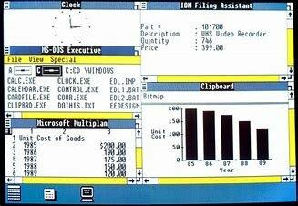 Creación de Windows WINDOWS 1.0